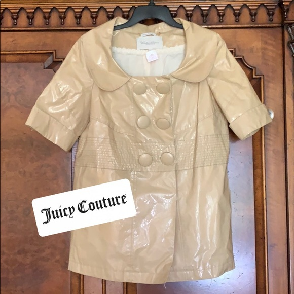 Juicy Couture Jackets & Blazers - NWT Juicy Couture RUNWAY Trench